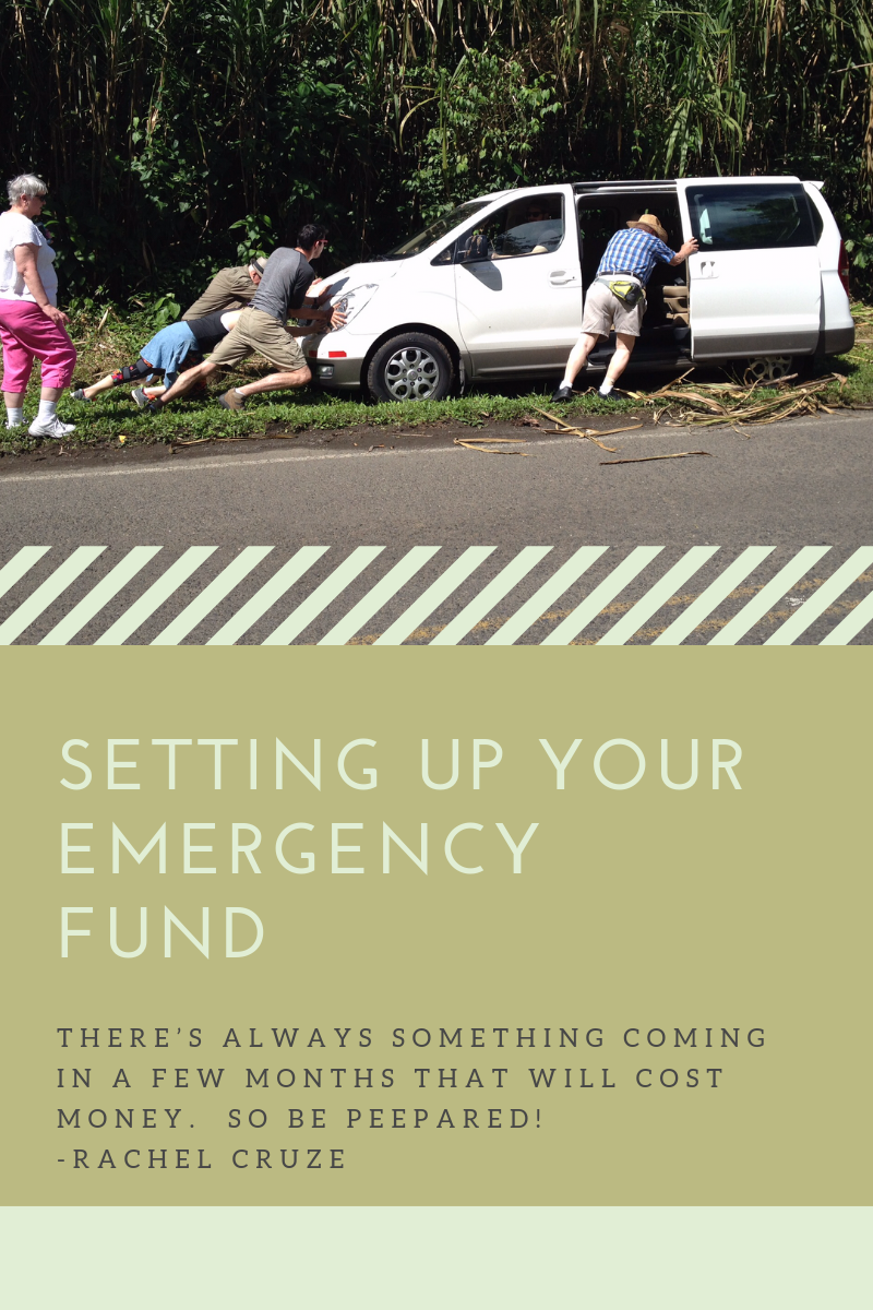 Setting up your emergency fund